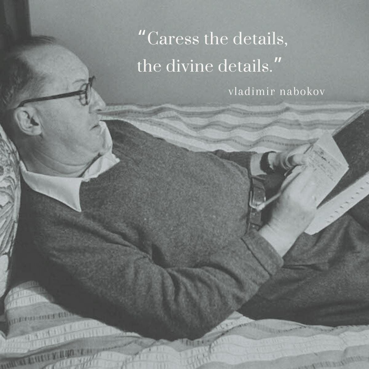 Divine Details nabokov