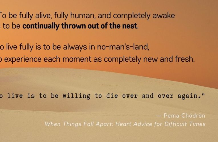 What happens when things fall apart
