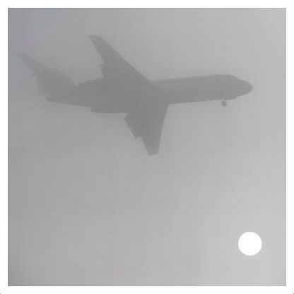 fog airplane