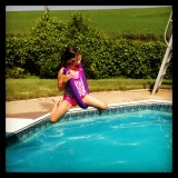 Aniah and The Swimming Pool