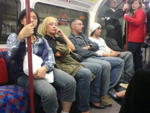 People on Tube