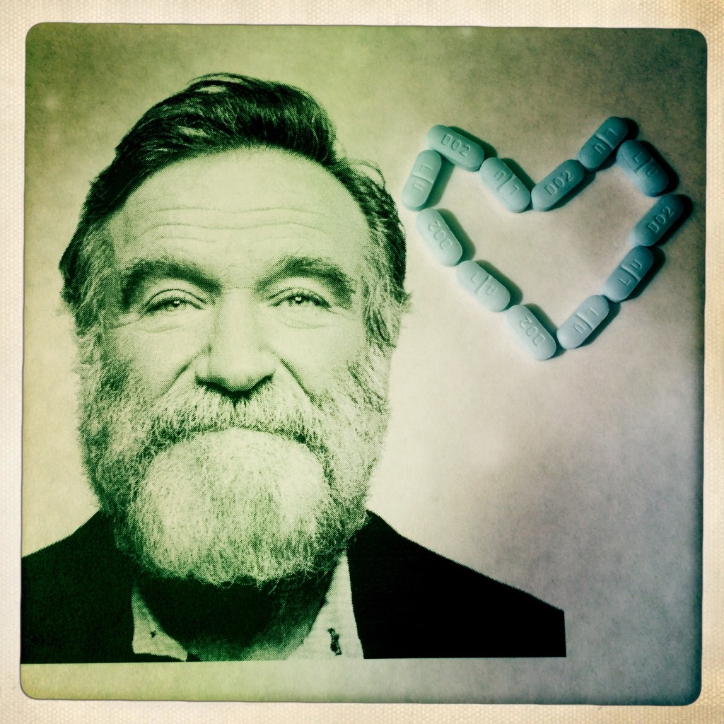Robin Williams and the Pills By Elizabeth Howard