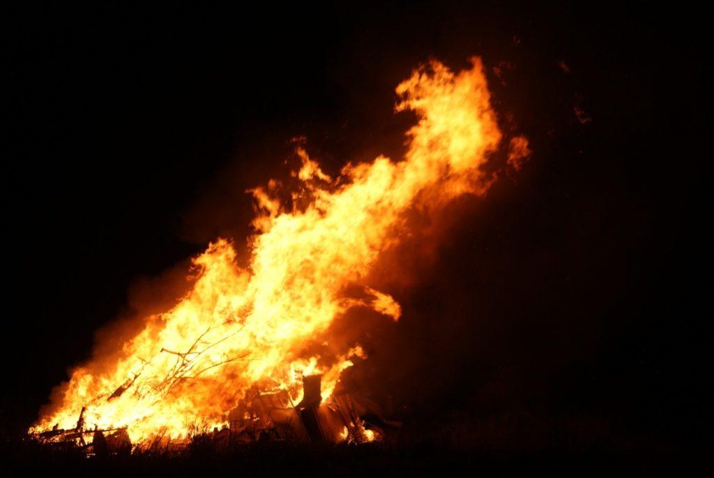 rohingya baby fire
