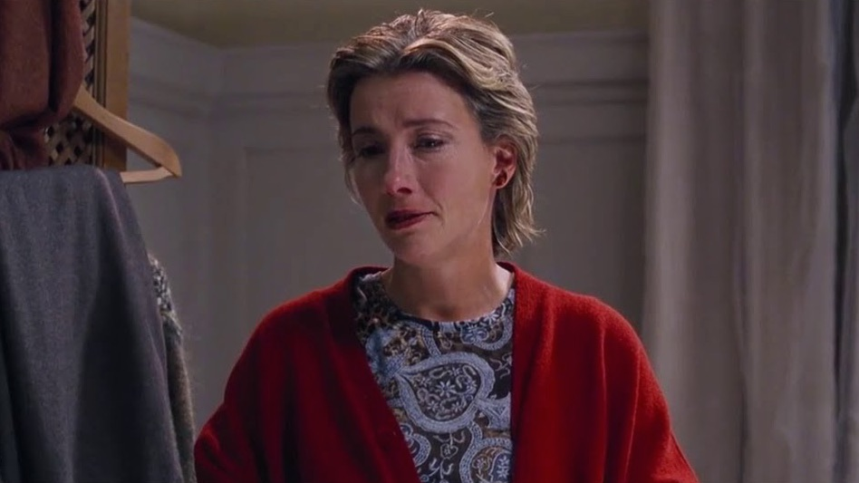 The Word for 2020 might be cry , a good reason to cry, Karen cries in Love Actually